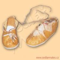 """Keltské boty """"krpce"""" (model č. 0001)"""