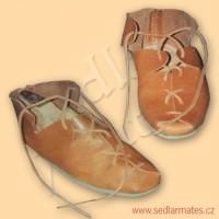 """Keltské boty """"krpce"""" (model č. 0002)"""