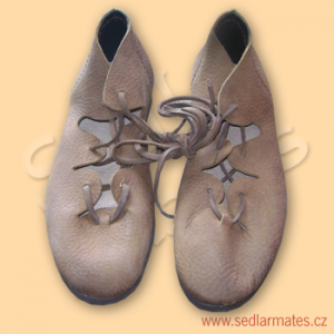"""Keltské boty """"krpce"""" (model č. 0008)"""