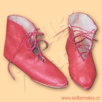 Gotické boty v provedení LH (model č. 9001)