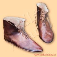 Ručně šité boty (model č. 9002)
