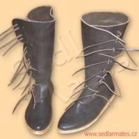 Boty Norman vysoké (model č. 9022)