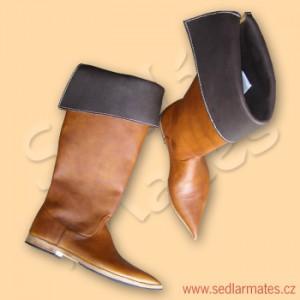 Gotické vysoké boty (model č. 9025)