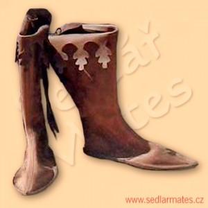 Gotické vysoké boty (model č. 1022)