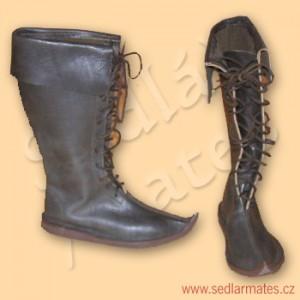 Gotické vysoké boty (model č. 1024)