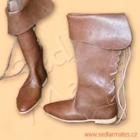 Vysoké gotické boty (model č. 1035)
