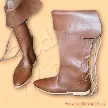 Vysoké gotické boty (model č. 1035) 5d3c42571b