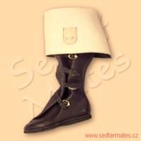 Gotické jezdecké boty (model č. 1052)