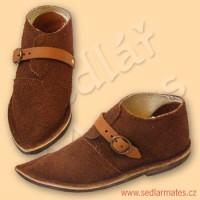 Dětské gotické nízké boty (model č. 1058)