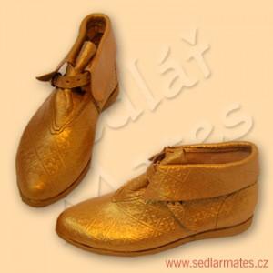 Gotické kotníkové boty (model č. 1064)