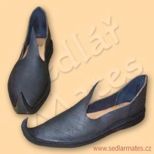 Orientální gotické boty (model č. 1069)