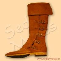 Gotické vysoké boty (model č. 1070)