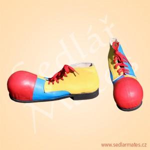 Veselé klaunské boty (model č. 4037)