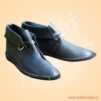 Gotické kotníkové boty (model č. 1111)