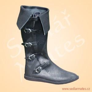 Gotické vysoké boty (model č. 1115)