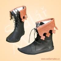 Parádní polovysoké boty (model č. 1122)