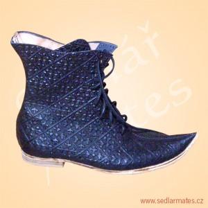 Luxusní polovysoké boty (model č. 1124)