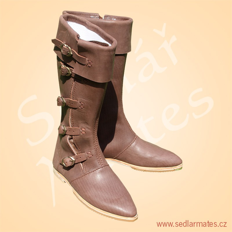 Gotické vysoké boty (model č. 1125) c83d7d376a