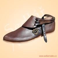 Gotické boty (model č. 9071)