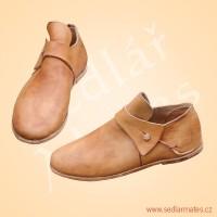 Nízké barokní boty (model č. 9076)