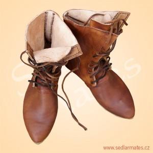 Polovysoké boty (model č. 9080)