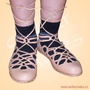 Římské sandály v provedení LH (model č. 0022)