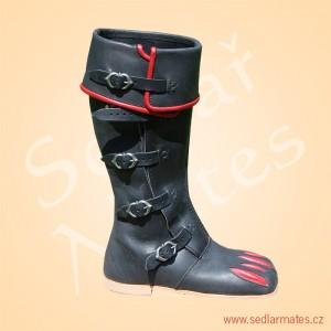 Jezdecké lancknechtské boty (model č. 2039)
