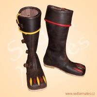 Jezdecké lancknechtské boty (model č. 2040)
