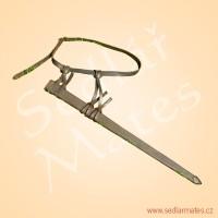 Pochva na meč s jednoduchým přepásání a úvazem (model č. 5055)