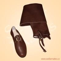 Sada barokních bot a návleků (model č. 3056)