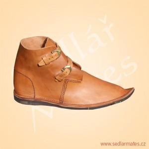 Gotické nízké boty (model č. 1019)