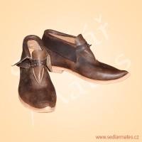 Gotické kotníkové boty (model č. 1126)
