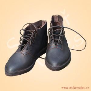 Kotníkové šněrovací boty (model č. 1130)