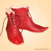 Parádní gotické boty nad kotník (model č. 1138)