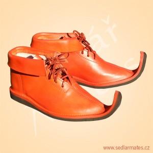 Gotické kotníkové boty (model č. 1139)