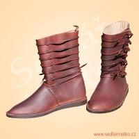Raně gotické polovysoké boty (model č. 1143)