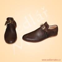 Barokní nízké boty (model č. 9085)