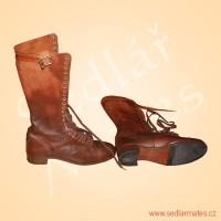 Vysoké šněrovací boty (model č. 4047)