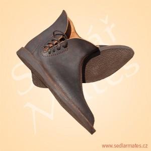 Gotické nízké boty (model č. 1003)