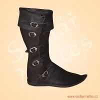 Gotické vysoké boty (model č. 1010)