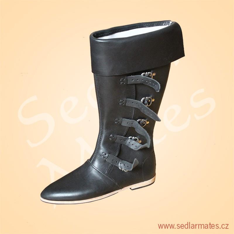 Gotické vysoké boty (model č. 1070) ed9916ce19