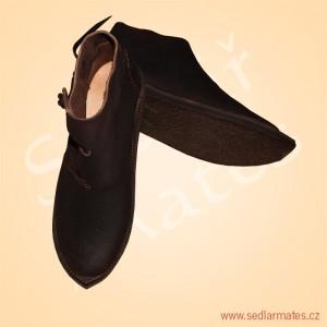 Kotníkové boty s malou špičkou (model č. 1148)