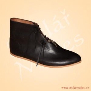 Nízké gotické boty (model č. 9003)