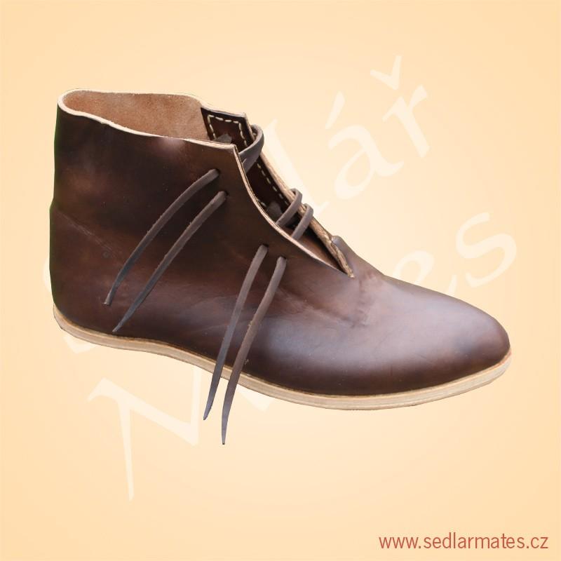 Nízké gotické boty (model č. 9003) 281993474b