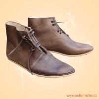 Kotníkové převracené boty (model č. 9098)
