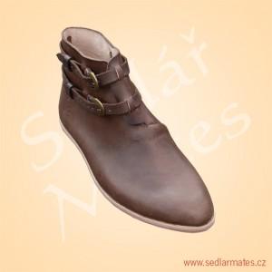 Kotníkové boty na přezky (model č. 9099)