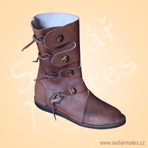 Polovysoké boty Viking (model č. 0005)