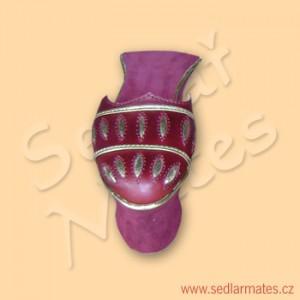 Dámské renesanční dvorské pantofle (model č. 2005)