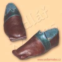 Renesanční boty pocházející z Anglie (model č. 2010)