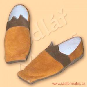 Renesanční boty pocházející z Anglie (model č. 2011)